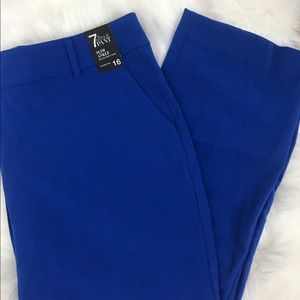 NY&Co 7th ave slim ankle stretch trousers pant